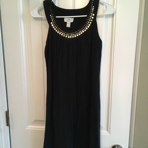 J. Crew Sequin Collar Dress